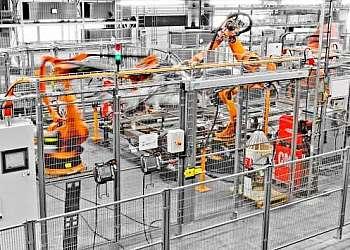 Segurança robótica industrial