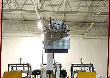 Braço robô industrial